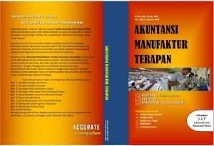 Caver Buku Akuntansi Manufaktur Terapan