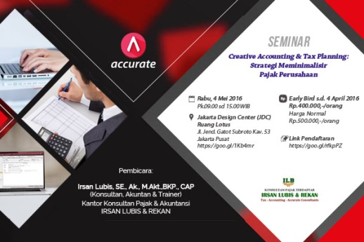 Seminar Creative Accounting CPSSoft